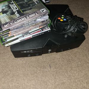 Xbox 1 With Games (No Cables) for Sale in Brainerd, MN