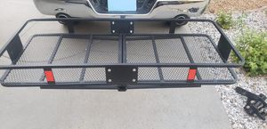 Curt basket cargo carrier hitch with bag for Sale in Winchester, CA