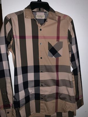 Burberry Button Up Shirt for Sale in Concord, CA