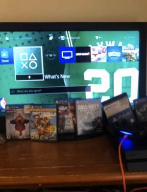 Playstation 4 + plus games for Sale in Westerly, RI