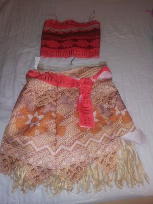 Moana dress costume for Sale in Tampa, FL