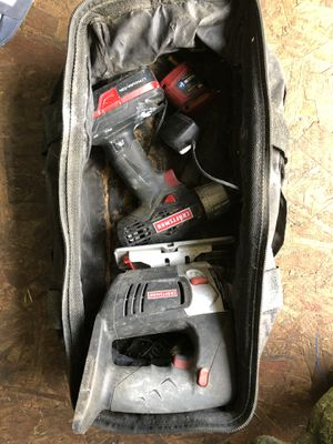 Craftsman drill and skill saw like new for Sale in Seattle, WA