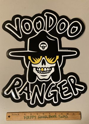 New Voodoo Ranger Metal Beer Bar tin Sign for Sale in Chino Hills, CA