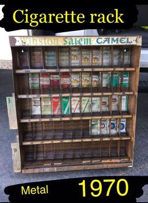 1970. Metal /tin cigarette rack. for Sale in Ontario, CA
