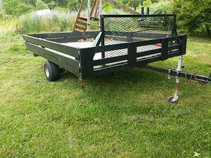 8' wide*10' long mowers trailer for sell or possible trade for Sale in Bean Station, TN