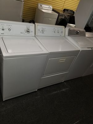 Kenmore electric top load set washer and dryer in excellen condition for Sale in Baltimore, MD