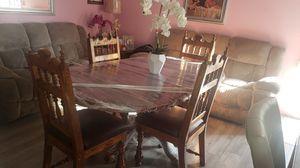 Vendo Mesa de pura Madera 4 Seattle$375 323 384 10 72 for Sale in Los Angeles, CA