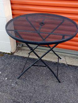 Folding Metal Patio Table for Sale in Washington,  DC