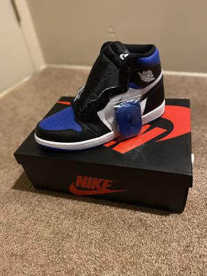 Jordan 1 royal toes size 10.5, only today the price 280 for Sale in Woodbridge, CT