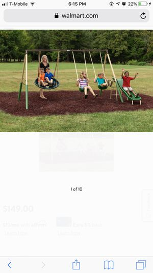 Kids swing set for Sale in Raleigh, NC