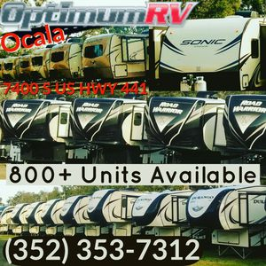Looking For A RV? Sub-Prime lending options are available as well for Sale in Ocala, FL