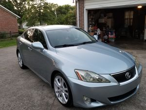 07 Lexus is350 clean title $5500 for Sale in Murfreesboro, TN