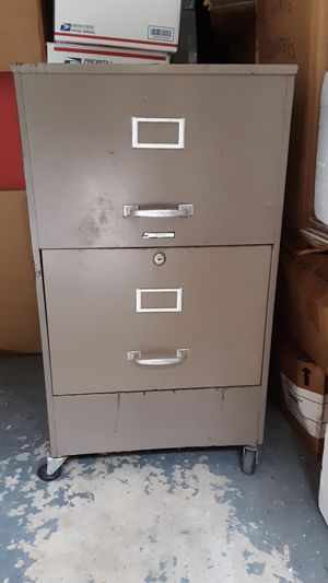 2 Drawer Metal File Cabinet for Sale in Elgin, SC