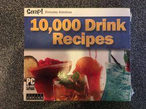Drink Recipe CD for Sale in Lovettsville, VA