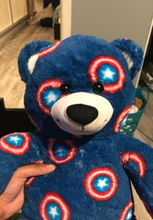 A captain America bear no ripped or damaged. for Sale in Las Vegas, NV