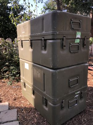 """Military surplus steel waterproof storage container 31""""Lx19""""Wx18""""H for Sale in Fresno, CA"""
