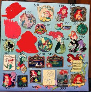 Disney Ariel pins for Sale in Galt, CA