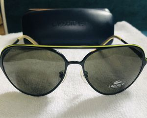 NEW Lacoste Aviator Sunglasses w/case! for Sale in Huntington Beach, CA