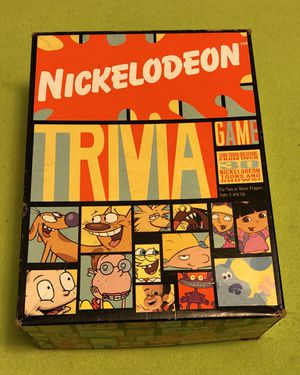 Nickelodeon Trivia Game Dora Rugrats Blues Clues for Sale in Torrance, CA