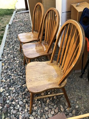3, Dining Chairs from Woodley's for Sale in Littleton, CO