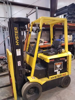 HYSTER e50xn electric Forklift, very low hours ! for Sale in Norfolk, VA