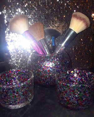 Glam makeup brush holders for Sale in Austin, TX