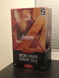 Hot Toys 1/6 Iron Man Mark XLV (45) diecast for Sale in Mountlake Terrace,  WA