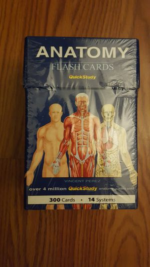 Anatomy flashcards for Sale in Rancho Cucamonga, CA