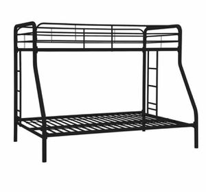 Metal bunk bed twin,queen black for Sale in Daly City, CA