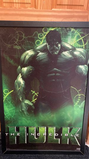 Marvel hulk canvas painting for Sale in Chicago, IL