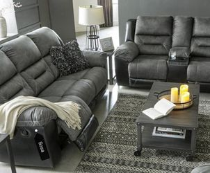 Earhart Slate Reclining Living Room Set 🚚SAME DAY Delivery 🗨️Sofa 💐Loveseat 💥 for Sale in Greenbelt,  MD