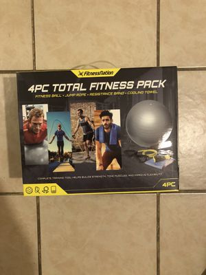 4 piece total fitness kit for Sale in Chatham Township, NJ