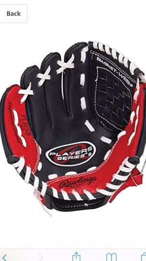 Rawlings Players Series Youth Tball/Baseball Glove (Ages 5-7) for Sale in Batavia, IL
