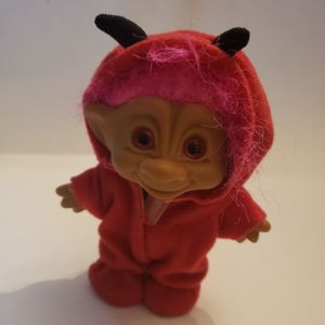 Sooo Cute!! Big Hair Troll In Devil Onesie With Tail! for Sale in Southington, CT