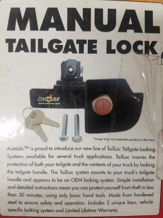 Autoloc Manual Tailgate Lock 1988-2000 Chevy Truck
