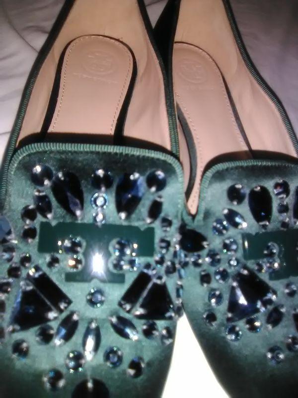 Tory Burch Crystal Shoe size 7
