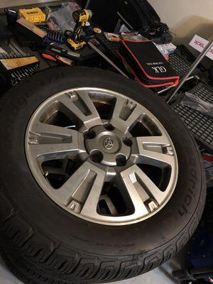 Toyota Tundra Platinum 20x10 Wheels & Tires for Sale in Miami, FL