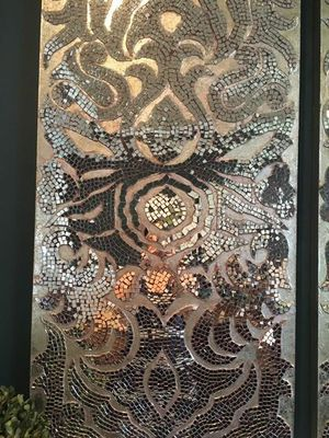 Beautiful mirrored Mosaic art wall decorative glass never used for Sale in Linthicum Heights, MD