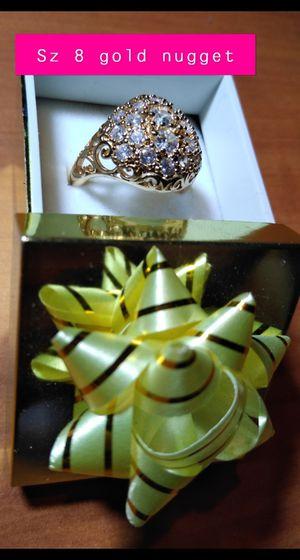 10kt gold ring sz 8 for Sale in Cedar Rapids, IA