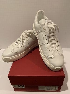 Valentino flycrew rockstud white low top sneakers AUTHENTIC for Sale in San Diego, CA