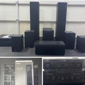 Yamaha 7.2 Channel Watt Surround Sound Receiver for Sale in Tacoma, WA