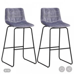 2 velvet bar stools (new) for Sale in Phoenix, AZ
