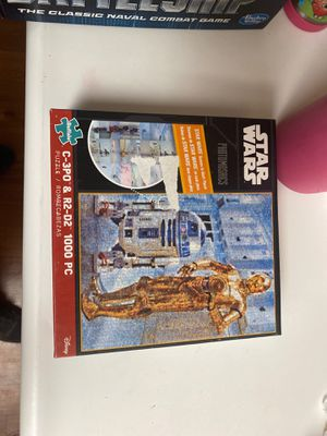 Buffalo Games - Star Wars - Photomosaics - C3po & R2-d2 Puzzle -1000 for Sale in Los Angeles, CA