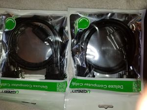 ugreen deluxe computer cable 3ft $6 each for Sale in Sanger, CA