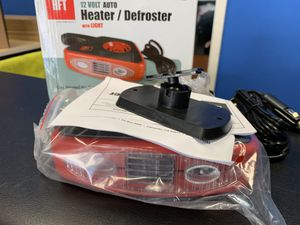 HFT RV Camper 12 Volt Auto Heater Defroster with LED Light for Sale in Long Beach, CA
