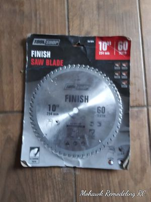 10 inch saw blade for Sale in Columbus, OH