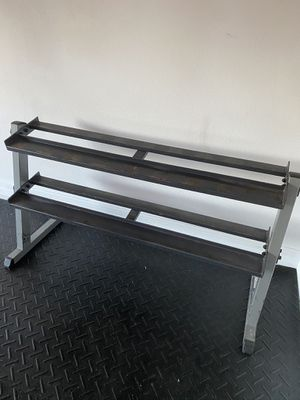 Body Solid Two Tier Dumbbell Rack for Sale in Wesley Chapel, FL