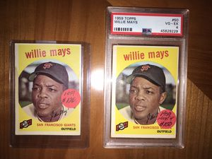 * (54) 1959 TOPPS BASEBALL CARDS * LOTS of HALL of FAME PLAYERS * for Sale in Lafayette, CA