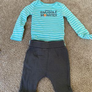 Daddy's Snuggle Monster Newborn Outfit for Sale in Philadelphia, PA