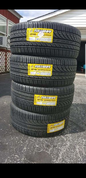 255 30 24 fullway Tires for Sale in Indianapolis, IN
